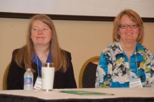 Dori Hillestad Butler and Nancy Medema